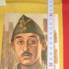 Postales: POSTAL FRANCISCO FRANCO FUNDADOR LEGION ESPAÑOLA 1984. Lote 34595706