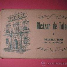Postales: ALCAZAR DE TOLEDO,PRIMERA SERIE DE 11 POSTALES,EL GENERAL MOSCARDO,EL CAUDILLO EN EL ALCAZAR,FOURNIE. Lote 34699072
