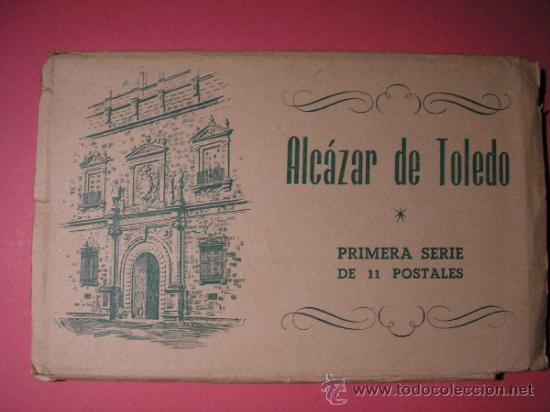 Postales: ALCAZAR DE TOLEDO,PRIMERA SERIE DE 11 POSTALES,EL GENERAL MOSCARDO,EL CAUDILLO EN EL ALCAZAR,FOURNIE - Foto 3 - 34699072