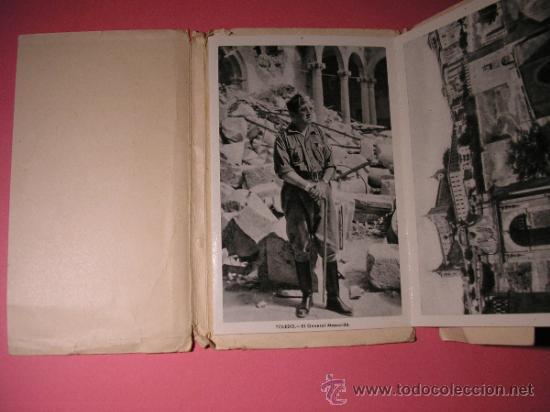 Postales: ALCAZAR DE TOLEDO,PRIMERA SERIE DE 11 POSTALES,EL GENERAL MOSCARDO,EL CAUDILLO EN EL ALCAZAR,FOURNIE - Foto 2 - 34699072