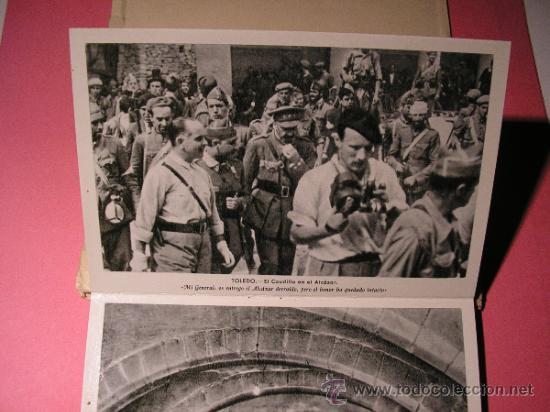 Postales: ALCAZAR DE TOLEDO,PRIMERA SERIE DE 11 POSTALES,EL GENERAL MOSCARDO,EL CAUDILLO EN EL ALCAZAR,FOURNIE - Foto 4 - 34699072