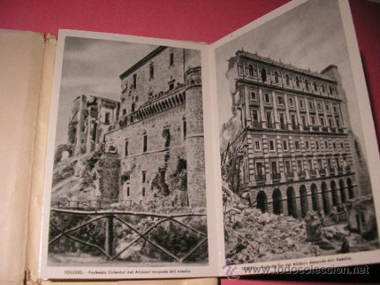Postales: ALCAZAR DE TOLEDO,PRIMERA SERIE DE 11 POSTALES,EL GENERAL MOSCARDO,EL CAUDILLO EN EL ALCAZAR,FOURNIE - Foto 5 - 34699072