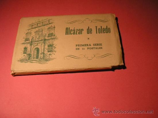 Postales: ALCAZAR DE TOLEDO,PRIMERA SERIE DE 11 POSTALES,EL GENERAL MOSCARDO,EL CAUDILLO EN EL ALCAZAR,FOURNIE - Foto 8 - 34699072
