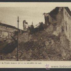 Postales: VISTA DEL ALCAZAR DE TOLEDO DESPUES DEL 27 DE SETIEMBRE DE 1936 -H. ARTE - (12.090). Lote 35015945