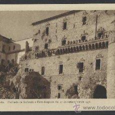 Postales: ALCAZAR DE TOLEDO FACHADA DE SALIENTE O ESTE DESPUES DEL 27 DE SETIEMBRE DE 1936- H. ARTE - (12.094). Lote 35016034