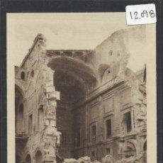 Postales: ALCAZAR DE TOLEDO ESCALERA PRINCIPAL DESPUES DEL 27 DE SETIEMBRE DE 1936- H. ARTE - (12.098). Lote 35016100