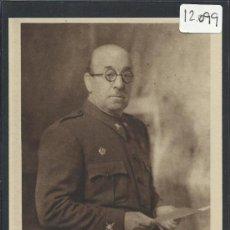 Postales: ALCAZAR DE TOLEDO - RETRATO DEL CORONEL MOSCARDO. HOY GENERAL - H. ARTE - (12.099). Lote 35016117