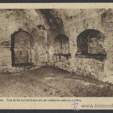 Postales: ALCAZAR DE TOLEDO - UNO DE LOS SUBTERRANEOS DONDE HABITABAN SEÑORAS Y NIÑOS - H. ARTE - (12.100). Lote 35016136