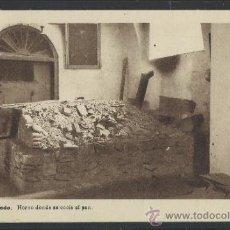 Postales: ALCAZAR DE TOLEDO - HORNO DONDE SE COCIA EL PAN - H. ARTE - (12.103). Lote 35016199