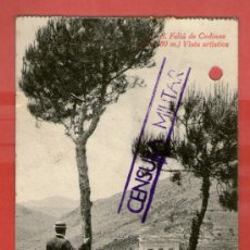 Postales: CENSURA MILITAR EN POSTAL SAN FELIU CODINAS 12 MAYO 1939 - POSTAL GUERRA CIVIL ESPAÑOLA. Lote 35434825