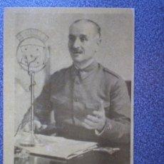 Postales: POSTAL ANTIGUA GENERAL QUEIPO DE LLANO JALÓN ÁNGEL ZARAGOZA. Lote 35485539