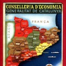 Postales: POSTAL GUERRA CIVIL, GENERALITAT DE CATALUNYA, REGIONS Y COMARQUES, 1936 , ORIGINAL.. Lote 37073342