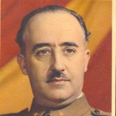 Postales: FRANCO. POSTAL COLOR CIRCULADA, C. 1938. Lote 37277389