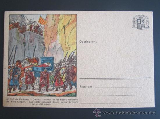 GUERRA CIVIL. POSTAL COMISSARIAT DE PROPAGANDA DE LA GENERALITAT DE CATALUNYA (Postales - Postales Temáticas - Guerra Civil Española)