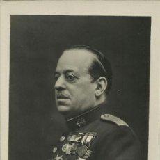 Postales: GUERRA CIVIL. RARA POSTAL.GM. GENERAL SANJURJO. + 20-7-1936. . Lote 38064002