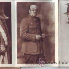 Postales: ALCAZAR DE TOLEDO. FOTOS: JALON ANGEL Y HAUSER Y MENET.. Lote 38764721