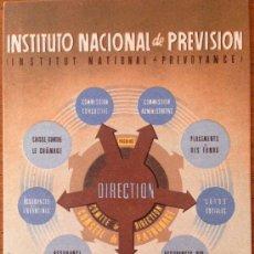 Postales: POSTAL ORIGINAL GUERRA CIVIL. INSTITUTO PREVISIÓN DEL MINISTERIO DE TRABAJO. PRIMERA DE LA SERIE.. Lote 39120057