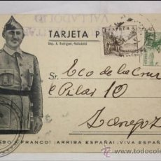 Postales: POSTAL FRANCO - GUERRA CIVIL ESPAÑOLA - 1939 . Lote 39275466