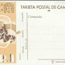 Postales: TARJETA POSTAL DE REPUBLICA ESPAÑOLA- S.R.I.. Lote 39381890
