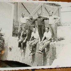 Postales: ANTIGUA FOTO POSTAL DE MILITARES REPUBLICANOS - MILICIANOS - GUERRA CIVIL EN CALELLA - BARCELONA - N. Lote 38245183