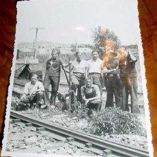 Postales: ANTIGUA FOTO POSTAL DE MILITARES REPUBLICANOS - MILICIANOS - GUERRA CIVIL EN CALELLA - BARCELONA - N. Lote 38245187