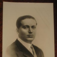 Postales: ANTIGUA FOTO POSTAL DE JOSE CALVO SOTELO, COBARDEMENTE ASESINADO EL 13 DE J ULIO DE 1936 - SIN CIRCU. Lote 38266130
