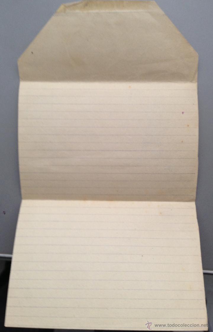 Postales: sobre carta ilustrado del SIA , solidaridad internacional Antifascista. Original época Guerra civil - Foto 3 - 41134839