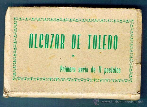 ALCAZAR DE TOLEDO. PRIMERA SERIE DE 11 POSTALES. GUERRA CIVIL (Postales - Postales Temáticas - Guerra Civil Española)