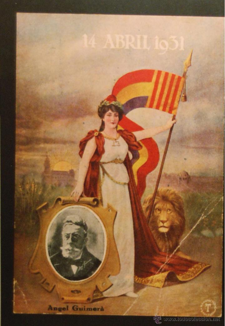 POSTAL ORIGINAL GUERRA CIVIL - REPUBLICANA - ANGEL GUIMERA (Postales - Postales Temáticas - Guerra Civil Española)