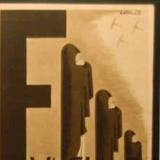 Postales: POSTAL ORIGINAL GUERRA CIVIL - REPUBLICANA - EVACUAD MADRID. Lote 43295570