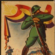Postales: POSTAL DE CAMPAÑA ORIGINAL GUERRA CIVIL - REPUBLICANA - 1936-1937. Lote 43316712