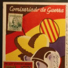 Postales: POSTAL ORIGINAL GUERRA CIVIL - REPUBLICANA - 33 DIVISION. Lote 43316993