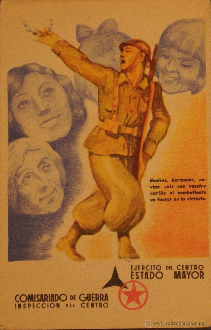 POSTAL ORIGINAL GUERRA CIVIL - REPUBLICANA - MADRES HERMANAS (Postales - Postales Temáticas - Guerra Civil Española)