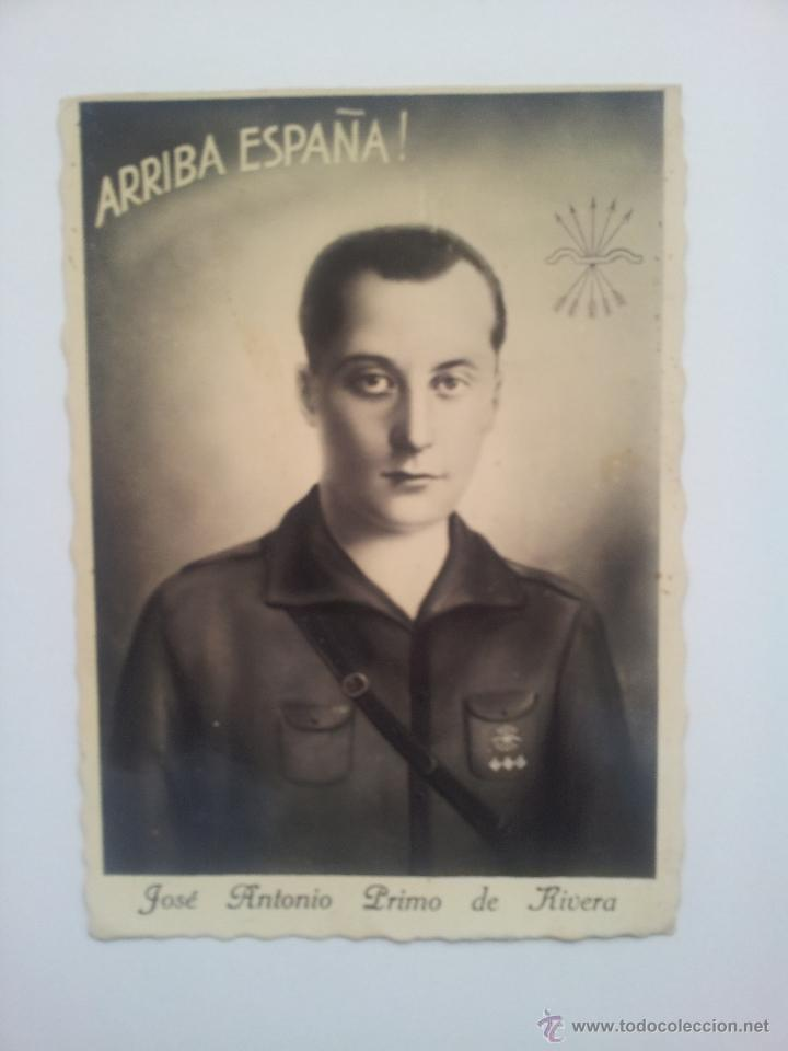 POSTAL ANTIGUA JOSE ANTONIO PRIMO RIVERA ( FALANGE) (Postales - Postales Temáticas - Guerra Civil Española)