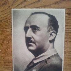 Postales: POSTAL DE FRANCISCO FRANCO CON SELLO DIVISIÓN MARROQUI Nº 150 - ESTADO MAYOR. Lote 43600056