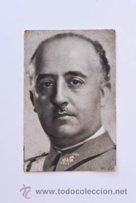 POSTAL FRANCO 1939 (Postales - Postales Temáticas - Guerra Civil Española)