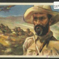 Postales: POSTAL GUERRA CIVIL - CRUZ ROJA - SERIE A Nº7 - JUAN FERNANDEZ EL NEGUS - (23977). Lote 44336899