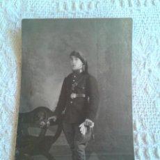 Postales: POSTAL SOLDADO ANTIGUA 1930. Lote 44899523