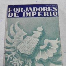 Postales: FORJADORES DE IMPERIO, EDICION POPULAR, JALON ANGEL, ZARAGOZA, COMPLETO (BANDO NACIONAL), COLECCIÓN. Lote 51466510