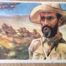 Postales: JUAN FERNANDEZ -EL NEGUS-. TARJETA POSTAL ILUSTRADA ORIGINAL GUERRA CIVIL. EDITADA POR CRUZ ROJA. . Lote 45655547