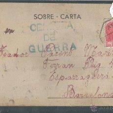 Postales: POSTAL GUERRA CIVIL - CENSURA DE GUERRA - (28259). Lote 47120467