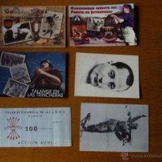 Postales: LOTE POSTALES VARIADAS, GUERRA CIVIL, DIVISION AZUL. Lote 47349909