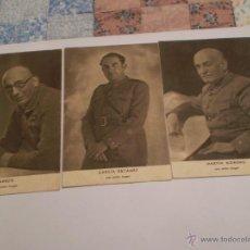 Postales: CON JUNTO DE 3 POSTALES MILITARES JALON ANGEL.. Lote 47741683
