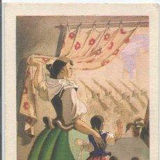 Postales: POSTAL PROPAGANDA PATRIÓTICA BANDO NACIONAL VOLVERÁN BANDERAS VICTORIOSAS. Lote 48391884