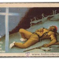 Postales: TARJETA POSTAL BILBAO RINDE HOMENAJE DE GRATITUD A LOS MARTIRES DE LA TRADICION. AÑO 1938. Lote 50595697
