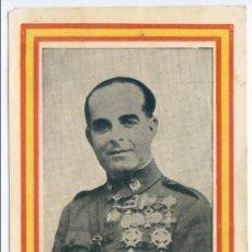 Postales: EXCMO. SR. GENERAL VARELA. EDICIONES ARRIBAS, ZARAGOZA. Lote 51800847