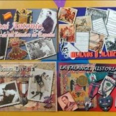 Postales: LOTE 4 POSTALES FALANGE DIVISIÓN AZUL. Lote 52954841