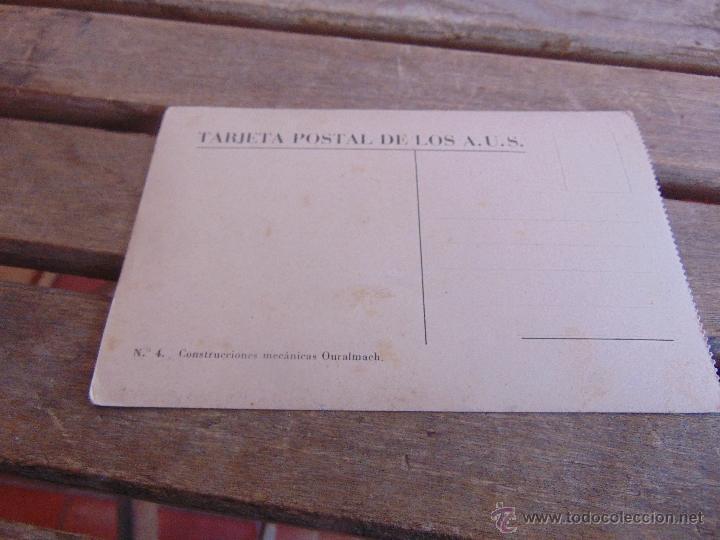 Postales: TARJETA POSTAL AMIGOS UNION SOVIETICA CONSTRUCCIONES MECANICAS OURALMACH - Foto 2 - 57327057