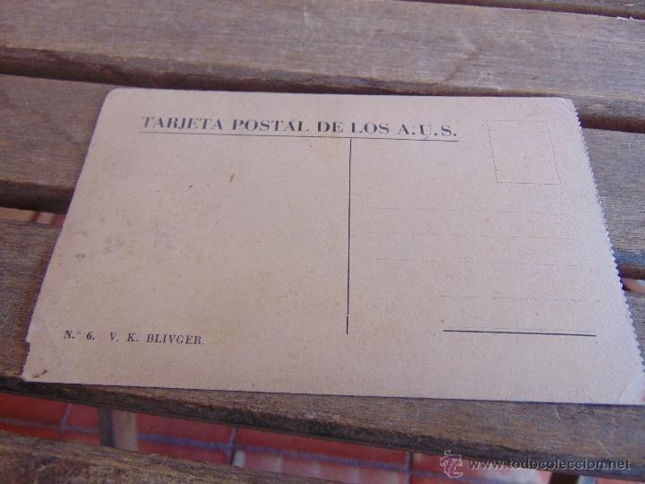 Postales: TARJETA POSTAL EDITADA POR ASOCIACION DE AMIGOS DE LA UNION SOVIETICA V. K. BLIVGER - Foto 2 - 54462820