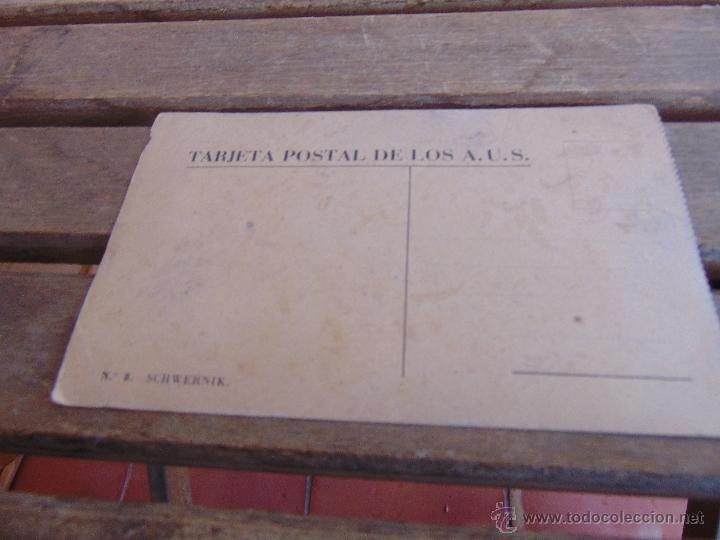 Postales: TARJETA POSTAL EDITADA POR ASOCIACION DE AMIGOS DE LA UNION SOVIETICA SCHWERNIK - Foto 2 - 54462996